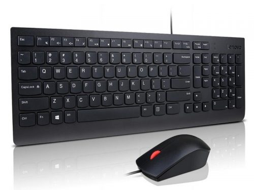 WIRED KEYBOARD & MOUSE
